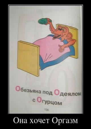 демотиватор - оргазм